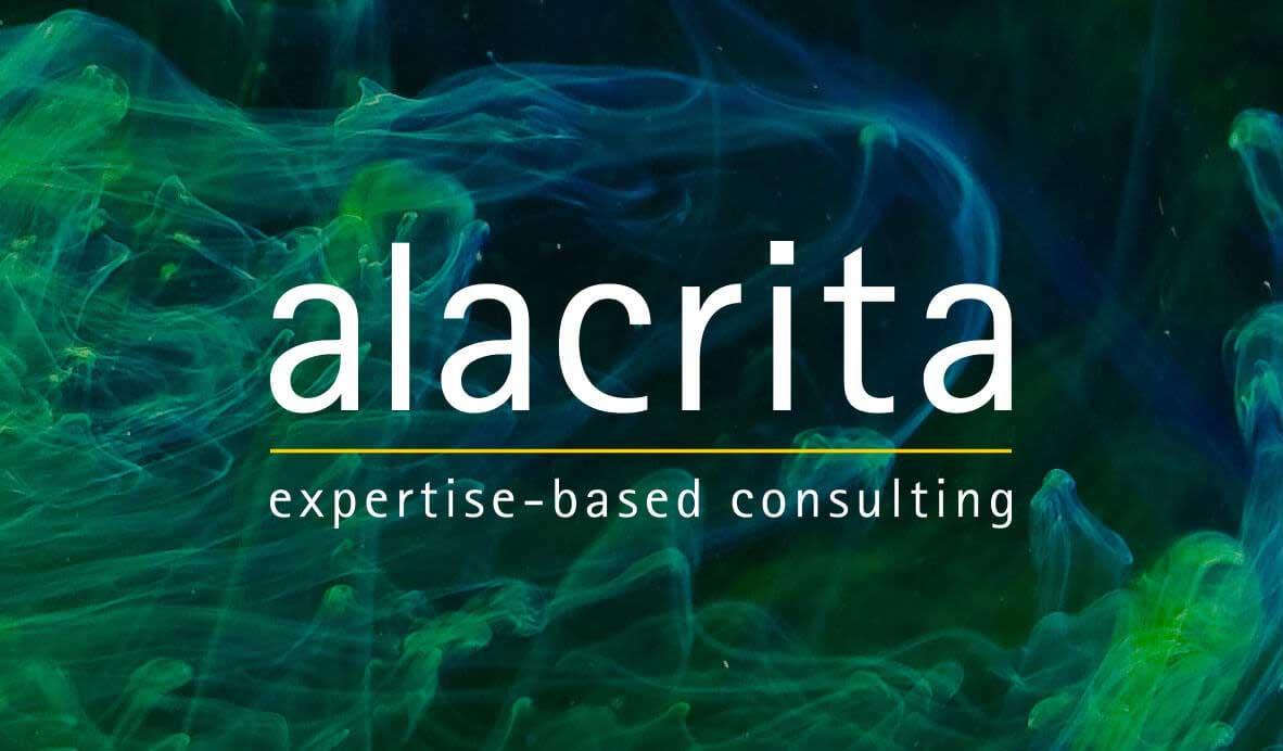 alacrita logo design