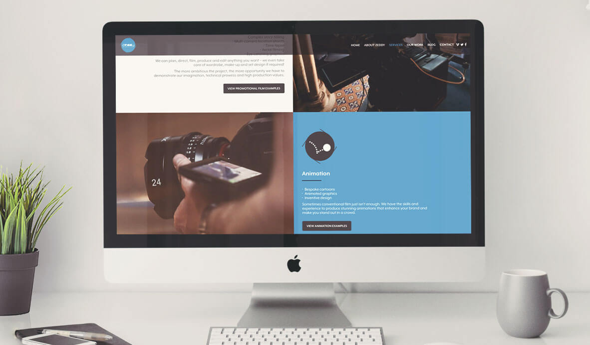zeddy wordpress responsive