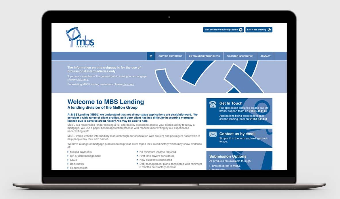 mbs lending website