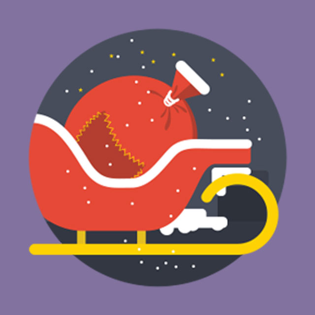 Find festive stickers, win fabulous prizes