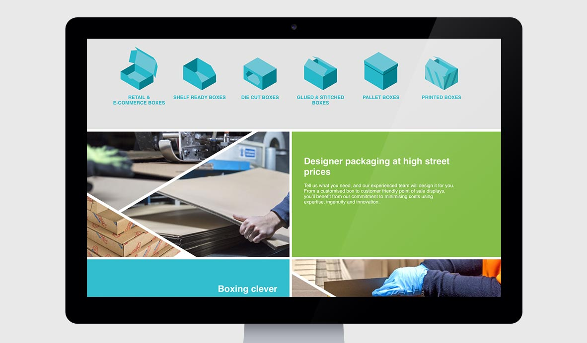 reliant packaging responsive-wordpress website design